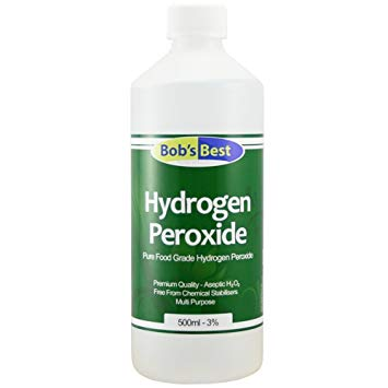 bottle of hydrogen peroxide by Bob's Best