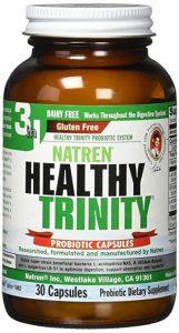 Health Trinity probiotics bottle